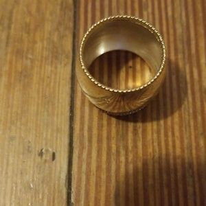 Ring, Thailand 925 with gold trim